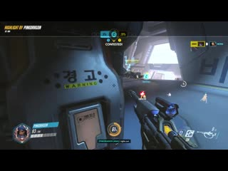 Doomfist peeked at the wrong place, at the wrong time