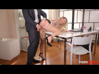 MILF Isabelle Deltore - hardcore anal sex therapy [Blonde, Big Tits, High Heels, Stockings, Piercing, Orgasm, Squirt, HD Porn]
