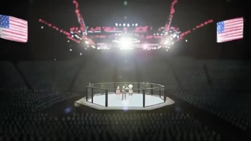 Очень трогательный Мультфильм про Хабиба Нурмагомедова и его отца Промо к UFC 254 480P mp4
