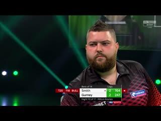 Michael Smith vs Daryl Gurney (PDC Premier League Darts 2020 / Week 10)