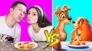 Повторяю рецепты из мультиков! Спагетти из ЛЕДИ И БРОДЯГА / Печенье от РАПУНЦЕЛЬ! 🐞 Afinka