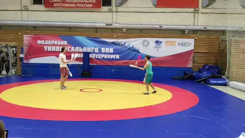 Битвы на булавах 29 11 Финал Арсений vs Илья