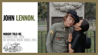 NOBODY TOLD ME. (Ultimate Mix, 2020) - John Lennon (official music video HD)