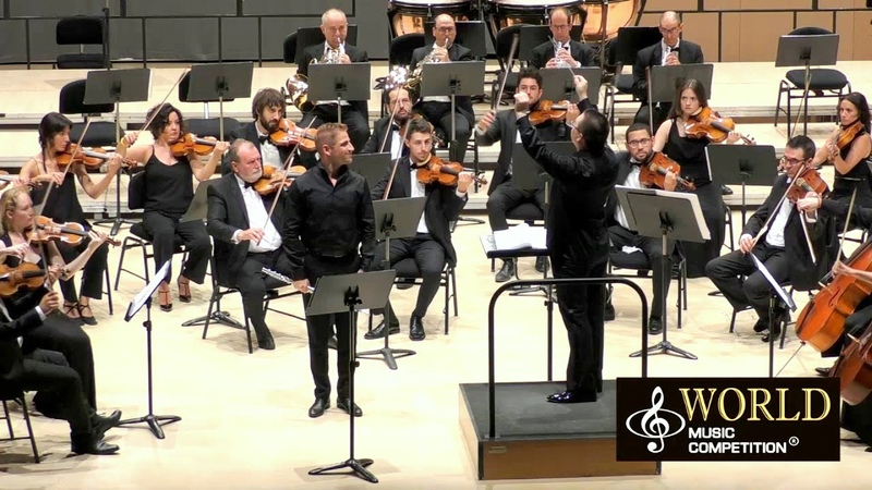 Mozart: Flute Concerto / Castello Symphony Orchestra • A. Haskin, soloist • D. Polyakov, conductor