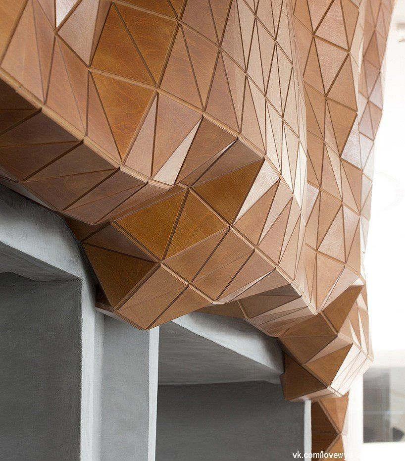 rigid yet flexible, wood-skin redefines the possibilities of wood