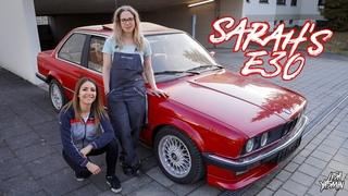 BMW E30 325e | Sarah's E30 😎  | Cargirls | Lisa Yasmin