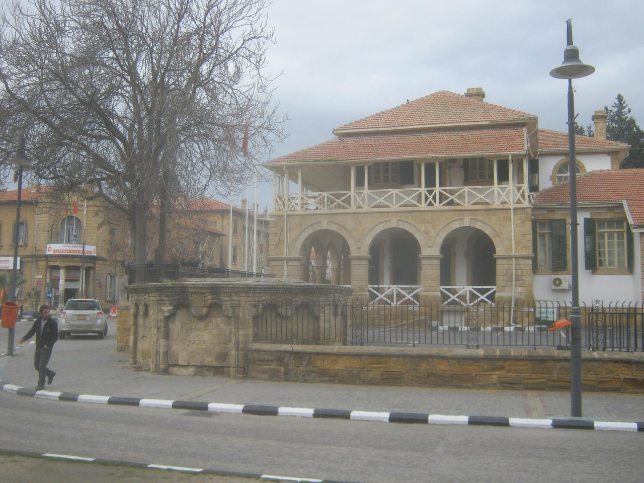 старые постройки в Лефкоша