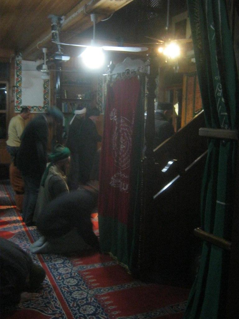 Суфийский намаз в мечети
