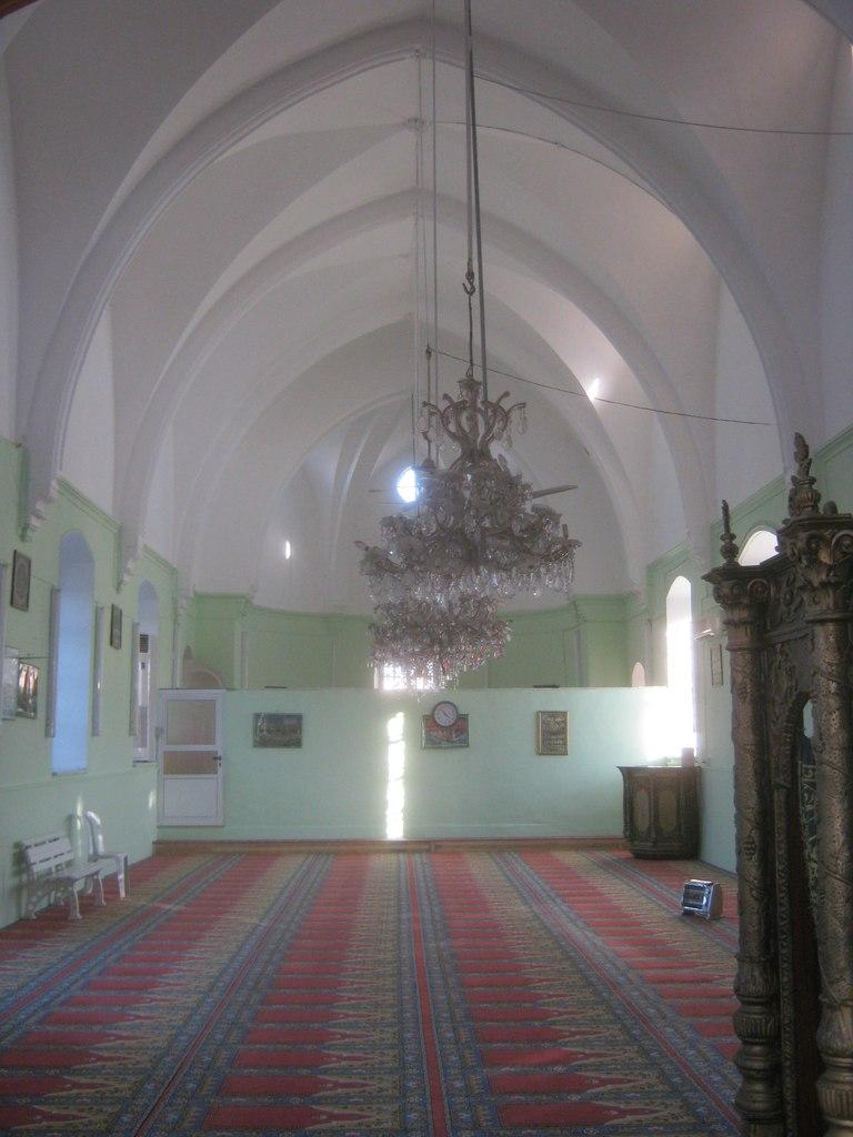 переделанная церковь в мечеть на Кипре
