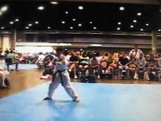 Вон Хё туль выполняет спортсмен из США