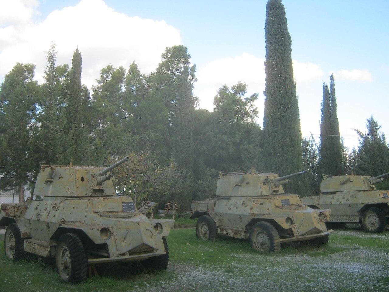 трофейная греческая военная техника