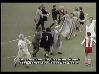 Monty Python, Partido de ftbol entre filsofos