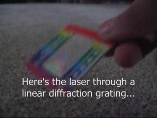 Мощный зеленый лазер-указка