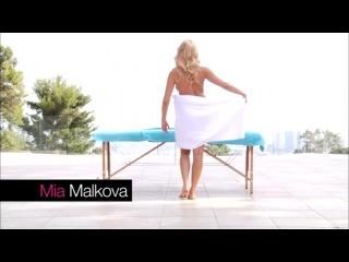 Hot Oil Massage - Hard X (Mia Malkova, Ava Addams, Lily Love, and Megan Salinas)