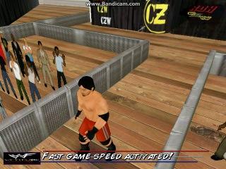 WWF Attitude - CZW - MASADA vs  ( Game for DRagon)