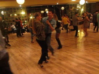 Talgat Zaitov & Maria Pavlenko (ON2 dancing is Military GRAND Salsa party in Traider VICs) Fun