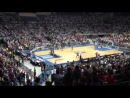 9 октября 2012 Командное Шоу Данков в перерывах на матче баскетбольной Барселоны Даллас Маверикс НБА