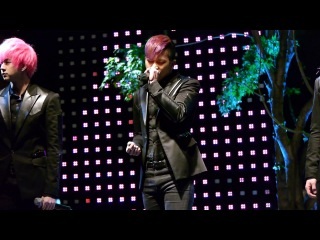 11 05 13 MBLAQ Scribble @ Ulsan Upsquare Opening ceremony Фанкам