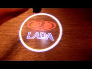 Лазерная проекция Лады.
