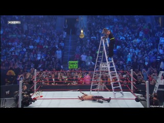 Edge vs. Jeff Hardy, WWE title ladder match - Extreme Rules 2009