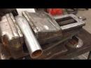 Тест циркулярной пилы HITACHI по металлу
