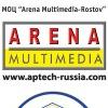 Arena Multimedia Rostov: графический дизайн, 2D