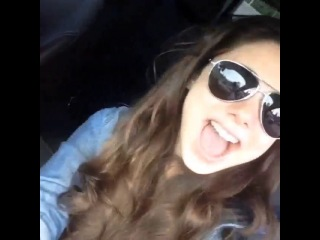 @kirakosarin: Jamming to @emblem3 on the way to work with @littlejgriffo 😂