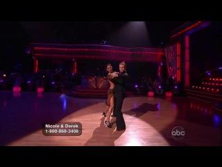 Nicole Scherzinger & Derek Hough - Argentine Tango (Dancing with the stars)