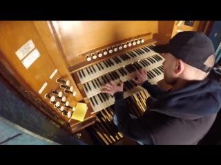 Эпичный кавер на органе hans zimmer first step
