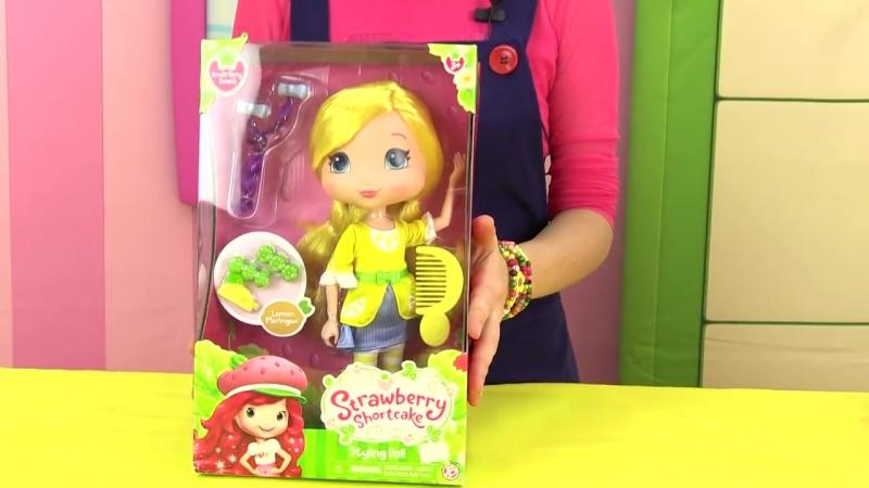 Видео для детей Машины истории Новые друзья Лимона Девочки ягодки Мультик Шарлотта Земляничка