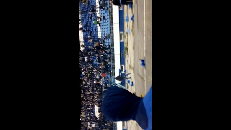 беспорядки на стадионе во время матча Факел Динамо №1
