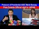 President Duterte official visit to Japan Press Conference with Asec Marie Banaag