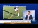 The Moroccan Messi: AC Milan's 15-year-old Hachim Mastour juggles an orange ping-pong ball.
