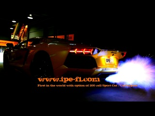 Lamborghini Aventador LP700-4 installed with iPE Innotech Exhaust - INSANE FLAMES EXHAUST SOUND!