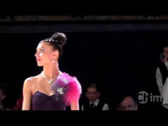 Еврений Барский и Валерия Олексюк - Медленный вальс (Танцфорум 2012, финал)
