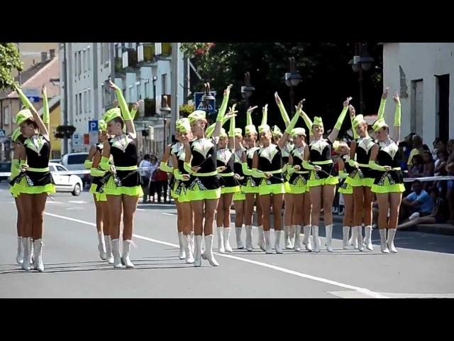 Mazsorett Grand Prix menetverseny 1 9 Tom Krokodil Krokodile 2012 Siófok Nemz. i Műv. i Feszt