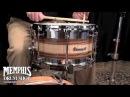 Dunnett Classic 14 x 8 Kore Tribrid Snare Drum - Curly Maple Zebrawood Claro Walnut Stainless Steel