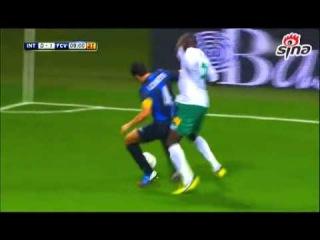 INTER 2-2 Vaslui, Europa League, ответный матч 4-го квалификационного раунда