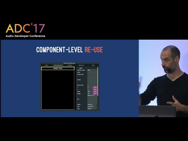 Geert Bevin Amos Gaynes Designing and implementing embedded synthesizer UIs with JUCE ADC'17
