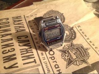 мои наручные мужские часы MONTANA
