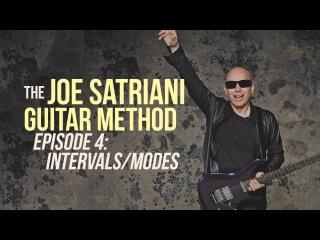 The Joe Satriani Guitar Method - Episode 4: Intervals/Modes