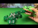 Learn color Forest Frenzy of Boonie Bears Toys With Crocodile Eating Toys