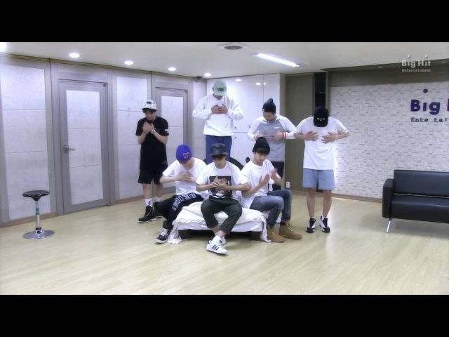 방탄소년단 BTS Special choreography Stage 2 이불킥 Embarrassed for 2015 FESTA