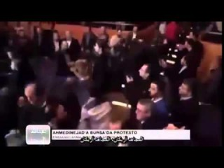Former Iran president Ahmadinejad beaten up in Turkey by Muslims