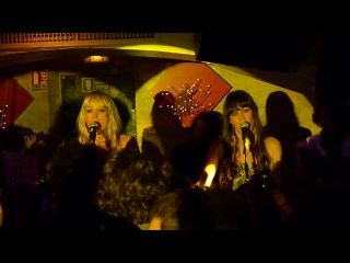 The Pierces - Three Wishes (Performing Live New-York Club, Paris, France)