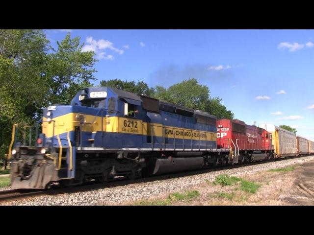 Railfaning the CP Watertown Subdivision 6 16 15 Part 2 Rush Hour at Doylestown