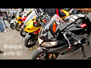 Brusque Motorcycle 2015 Pt. 02 - Superbikes Revs, Redline & Burnouts