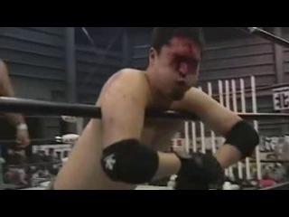 Abdullah Kobayashi, Daisuke Sekimoto & Jaki Numazawa vs. Ryuji Ito, Takashi Sasaki & MASADA