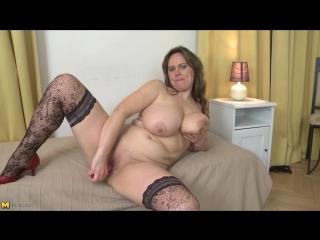 Olarita (37) - Mature woman with big natural tits (Housewife Big breasts Masturbation Solo Toys)