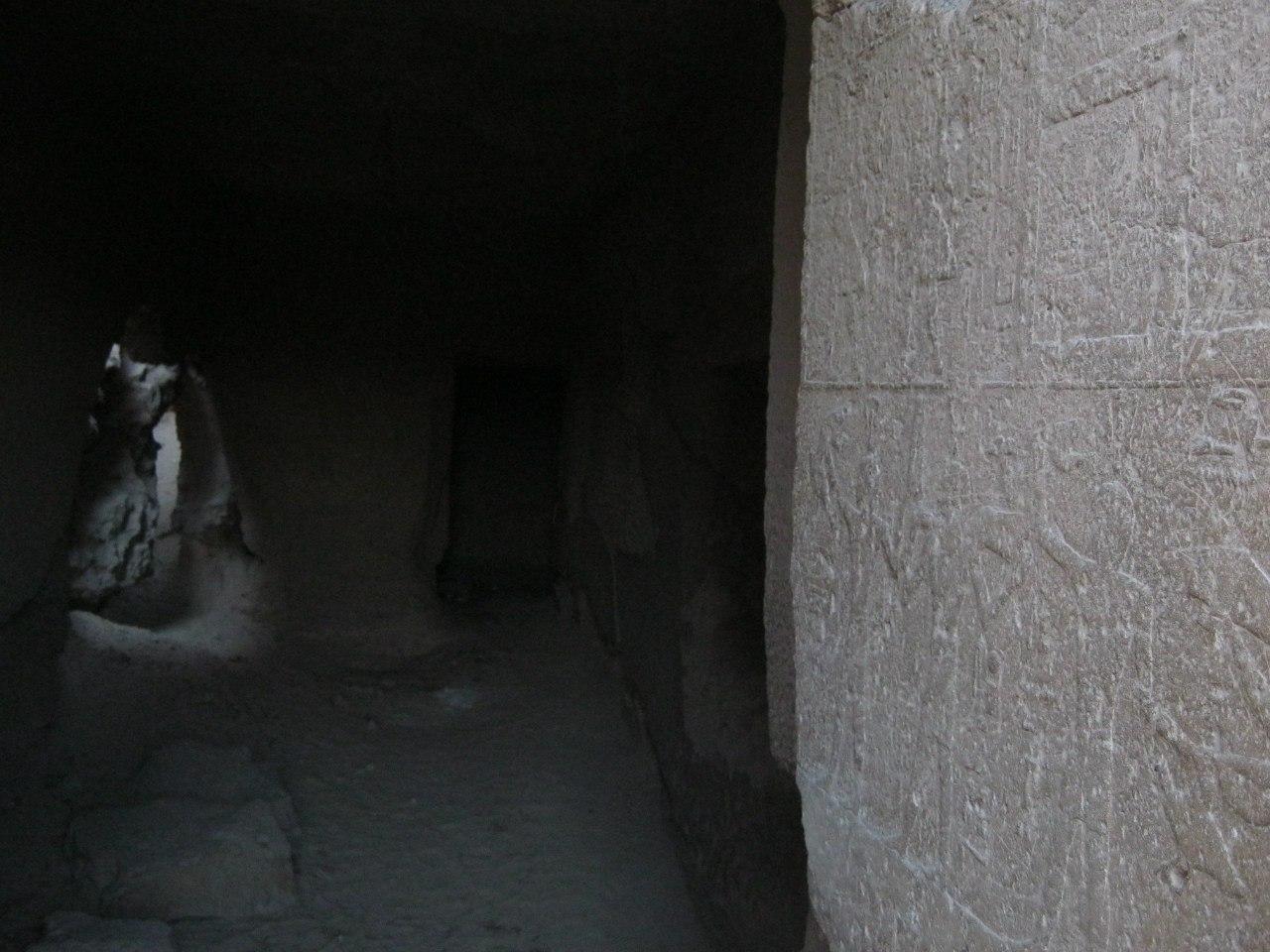 Иероглифы на стенах пирамид Гизы